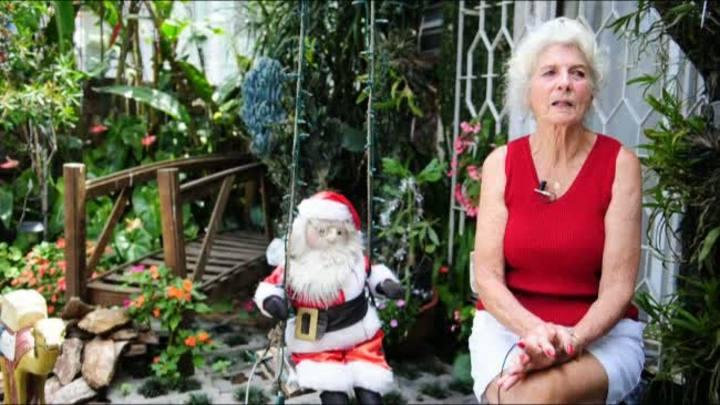 Moradora da Capital enfeita a casa com mais de 40 mil lâmpadas para o Natal