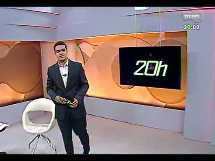 TVCOM 20 Horas - 14/01/2013 - Bloco 1 - Extração ilegal de areia no Rio Jacuí
