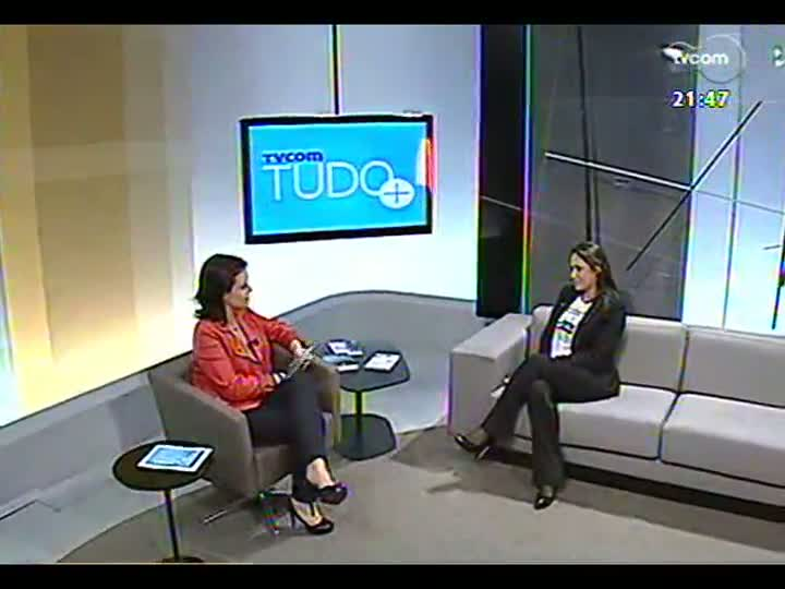 TVCOM Tudo Mais - Integrante do Núcleo de Educação do Senac fala das atividades da Feira de Oportunidades