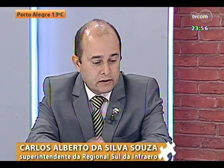 Mãos e Mentes - Superintendente regional da Infraero, Carlos Alberto da Silva Souza - Bloco 3 - 29/05/2013