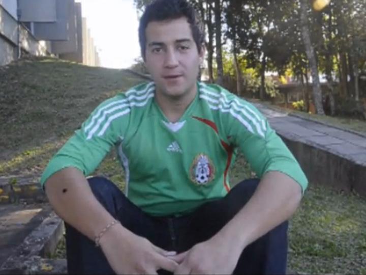 Copa das Confederações - Mexicano que mora em Caxias do Sul