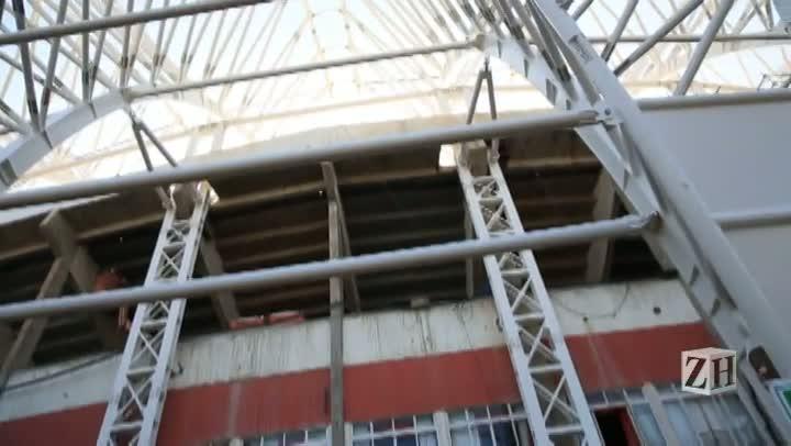 Conheça o estádio Beira-Rio por dentro