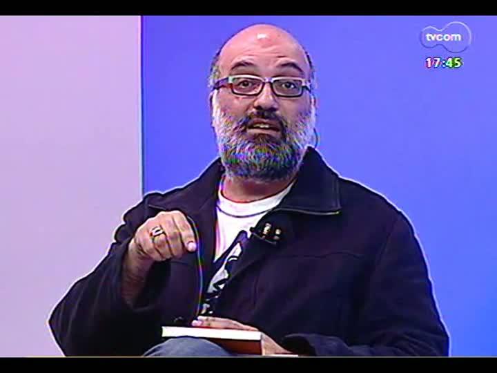 Programa do Roger - Pesquisador Fabrício Silveira discute rock e cultura pop no livro \'Rupturas instáveis\' - bloco 1 - 14/06/2013