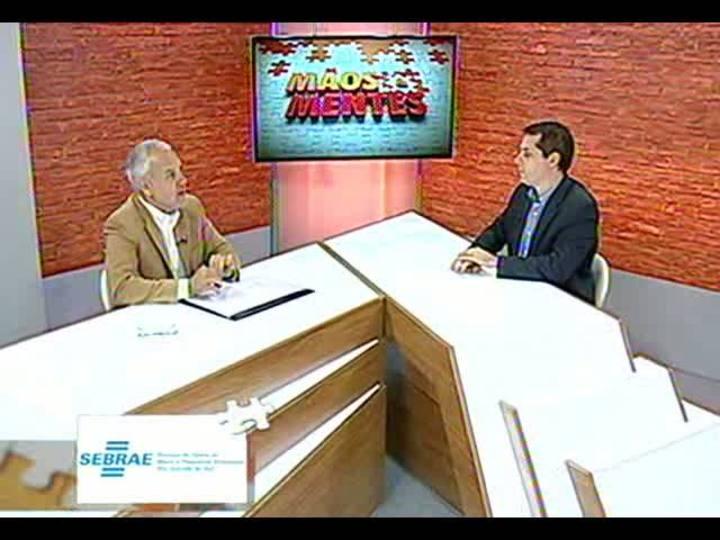 Mãos e Mentes - Sociólogo e empresário José Cesar Martins - Bloco 1 - 15/08/2013