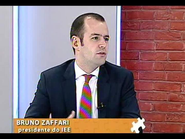 Mãos e Mentes - Presidente do Instituto de Estudos Empresariais, Bruno Zaffari - Bloco 1 - 16/09/2013