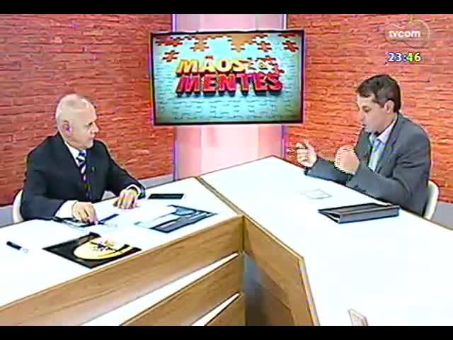 Mãos e Mentes - Superintendente do Centro de Excelência Empresarial, Paulo Tadeu Löw Bandeira - Bloco 2 - 07/10/2013