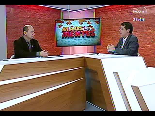 Mãos e Mentes - Presidente da Fetag, Elton Weber - Bloco 2 - 08/10/2013