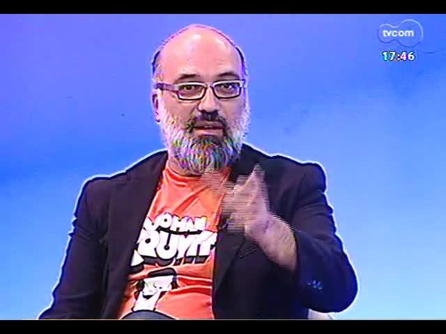Programa do Roger - Oswaldo Montenegro fala de show e do filme \'Solidões\' - bloco 1 - 10/10/2013