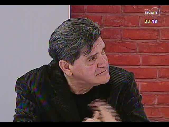 Mãos e Mentes - Escritor e cineasta Tabajara Ruas - Bloco 4 - 13/10/2013