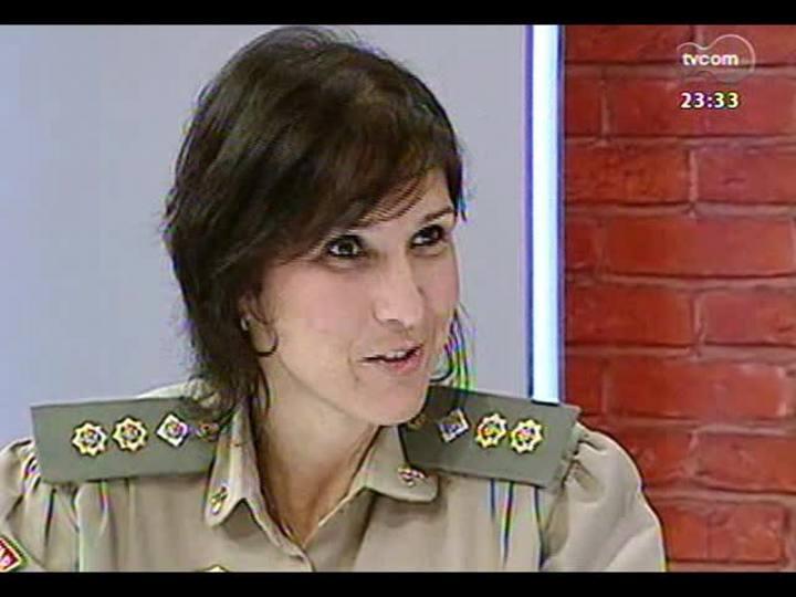 Mãos e Mentes - Tenente-coronel Nádia Gerhard, a primeira mulher a comandar um batalhão da Brigada Militar no RS - Bloco 1 - 17/11/2013