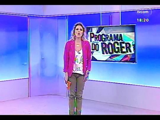 Programa do Roger - Divulgado primeiro trailer do filme \'Um conto do destino\' - bloco 4 - 26/11/2013