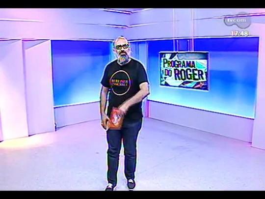Programa do Roger - Lançamento de clipe da música \'Diz\', de Guri Assis Brasil - Bloco 1 - 31/01/2014