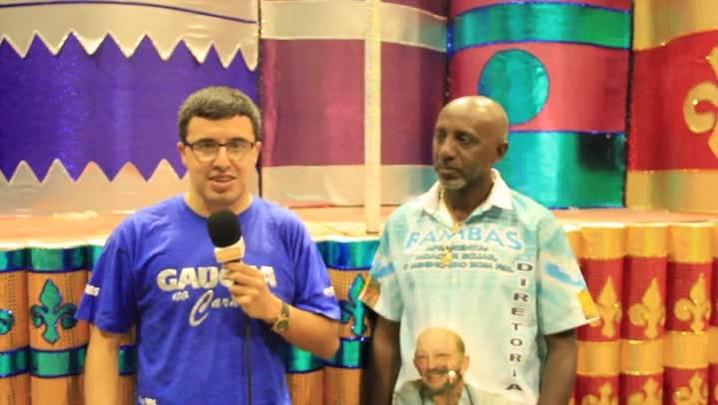 Os dez carnavais do Porto Seco: Cleomar Rosa comenta a vitória dos Bambas em 2013. 26/02/2014