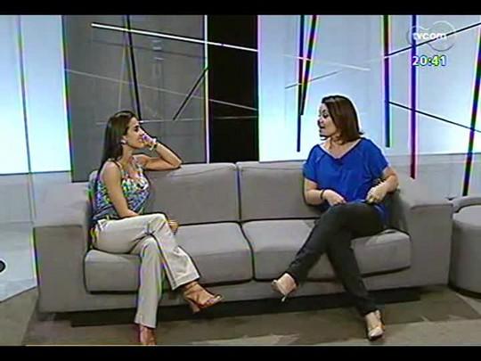 TVCOM Tudo Mais - Fernanda Pandolfi fala de galeria de arte de POA que faz 1 ano
