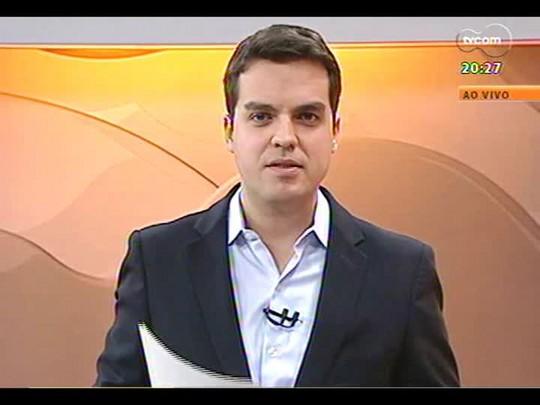TVCOM 20 Horas - Roberto Robaina (PSol) é anunciado como pré-candidato ao governo do estado - Bloco 3 - 19/06/2014