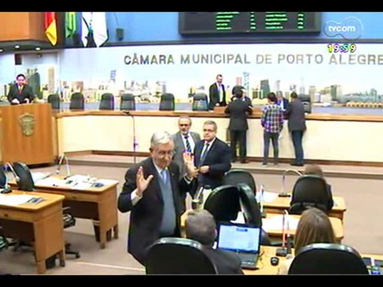 TVCOM 20 Horas - Adiada mais uma vez a votação da nova lei das antenas de celular em Porto Alegre - Bloco 1 - 14/07/2014