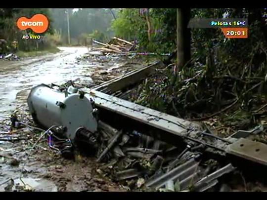 TVCOM 20 Horas - Chuva agrava situação de familias atingidas pelo granizo - Bloco 1 - 02/09/2014