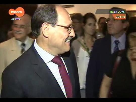 TVCOM 20 Horas - Novo governador eleito José Ivo Sartori visita Assembleia Legislativa - 29/10/2014