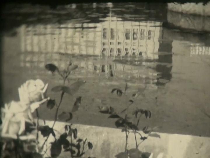 Registro da Praça Dante Alighieri em abril de 1957