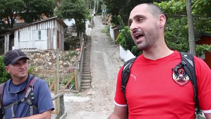 Praticante de trilhas mostra a Florianópolis que poucos conhecem