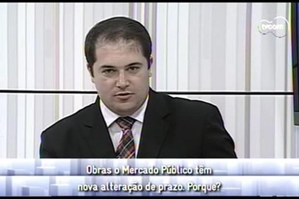 Conversas Cruzadas - Obras no mercado público com novo prazo - 4ºBloco - 19.12.14