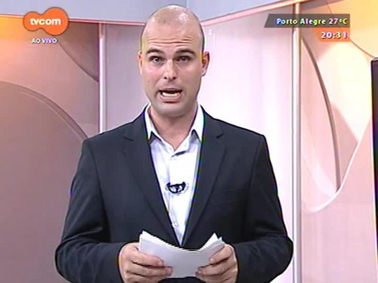 TVCOM 20 Horas - Ministério Público cobra da Assembleia afastamento de deputado Gilmar Sossella (PDT) - 25/03/2015