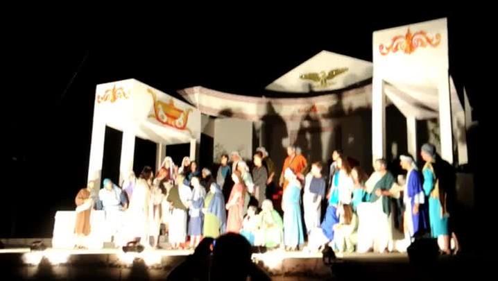 Veja como foi a 20ª edição do espetáculo de Páscoa de Guabiruba