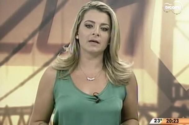 TVCOM 20 Horas - Governador Raimundo Colombo fala da ajuda do exército nos municípios atingidas pelo tornado - 21.04.15