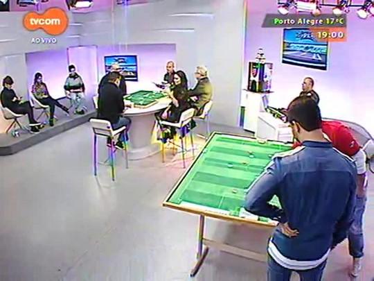 Super TVCOM Esportes - Desafio de futebol de botão