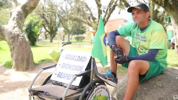 De Uiramutã ao Chuí: 15 milhões de passos para espalhar o bem