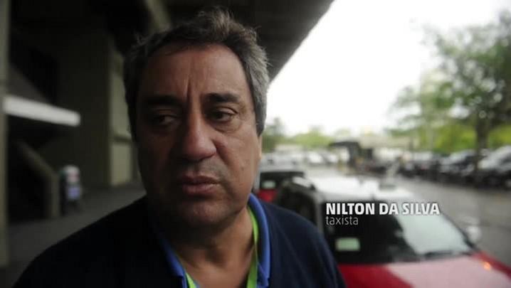 Taxistas fazem homenagem a colega e cobram mais segurança das autoridades em Florianópolis