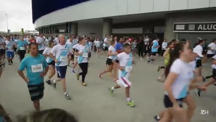 Corrida do Grêmio reúne cerca de 4 mil competidores na Arena