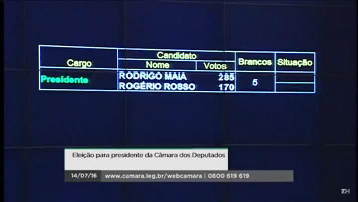 Rodrigo Maia pede paz na Câmara