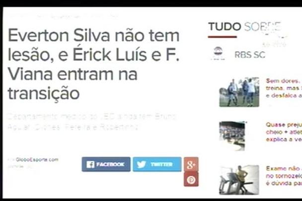 TVCOM Esportes. 4º Bloco. 12.07.16