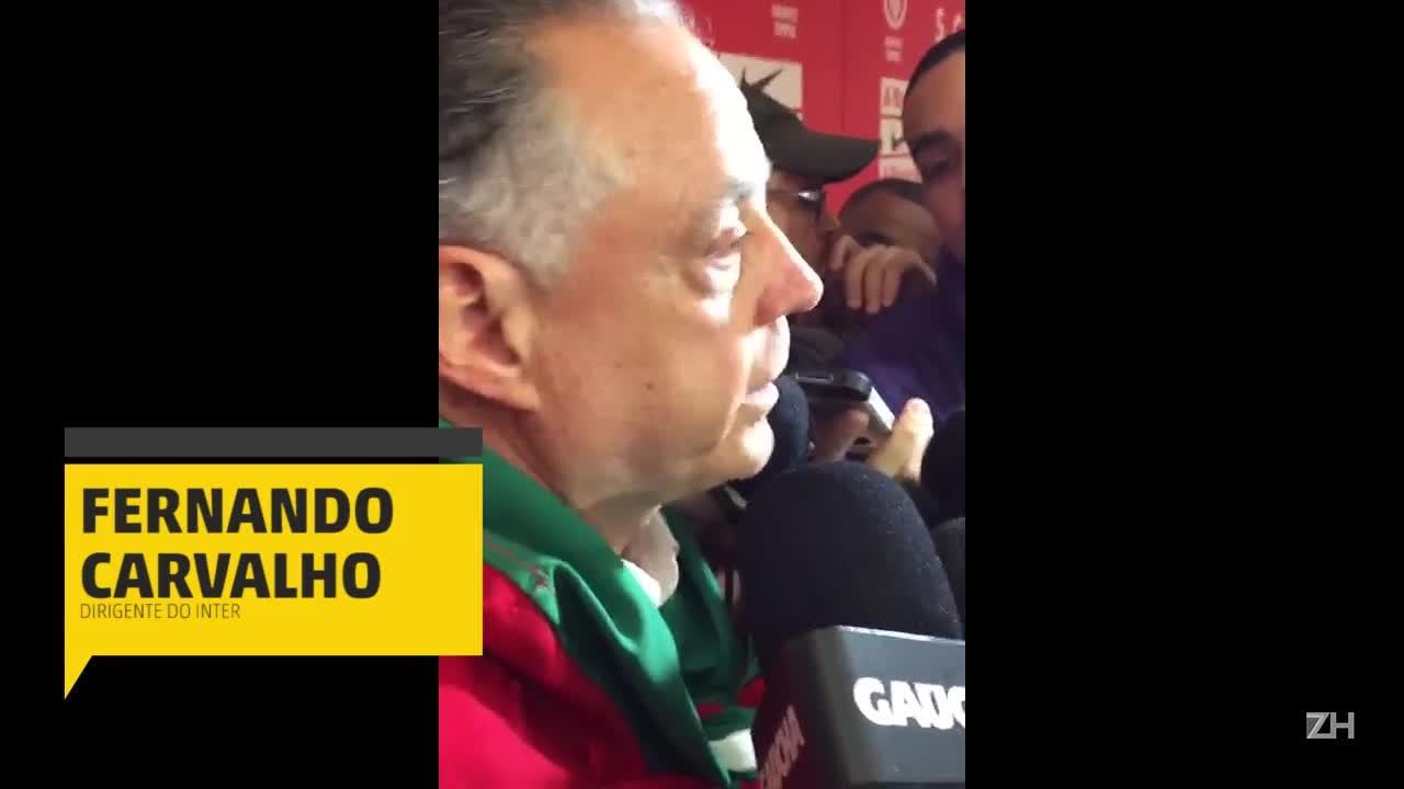 """Fernando Carvalho: \""""Aqui em casa não vão nos vencer\"""""""