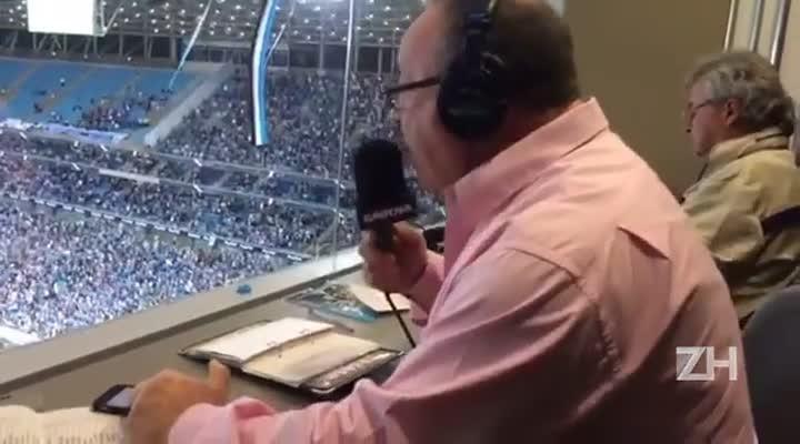 Pedro Ernesto narra a classificação do Grêmio à final da Copa do Brasil
