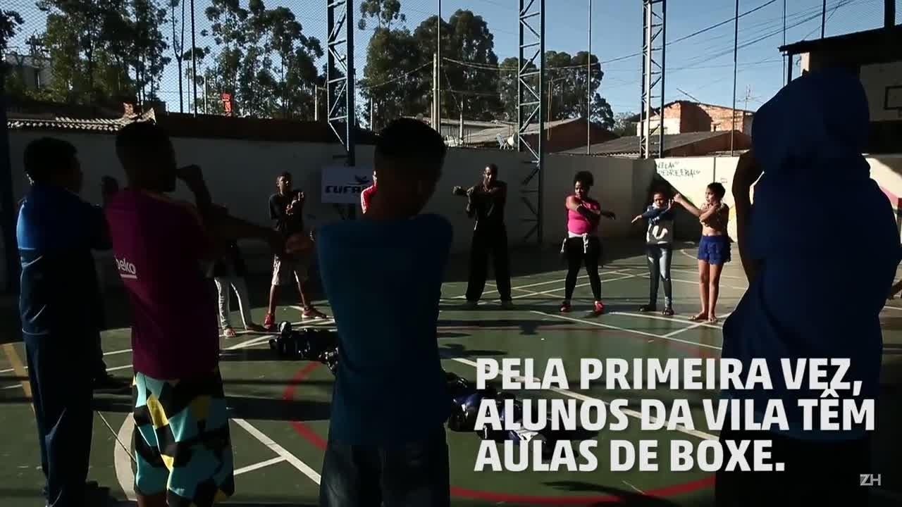 Boxe na Vila Pedreira