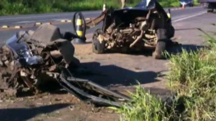 Perseguição termina em acidente em Joinville