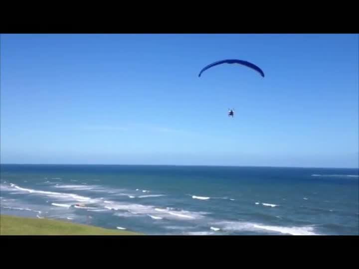 Voo livre no Morro do Farol. 22/12/2012
