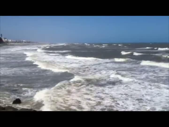 Domingo de tempo bom no litoral gaúcho