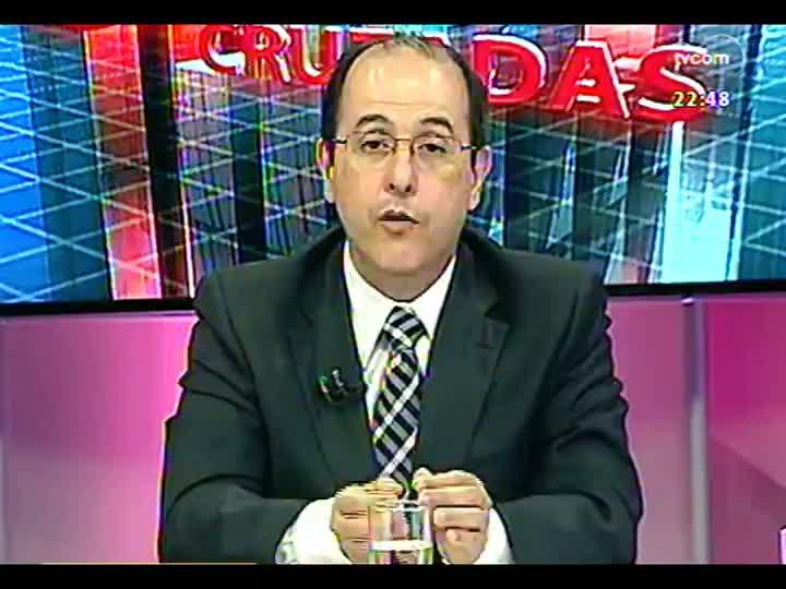 Conversas Cruzadas - Aplicação de verbas do orçamento para a segurança pública - Bloco 3 - 07/02/2013