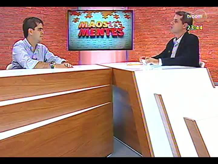 Mãos e Mentes - Coach de vida Gabriel Carneiro Costa - Bloco 3 - 10/04/2013