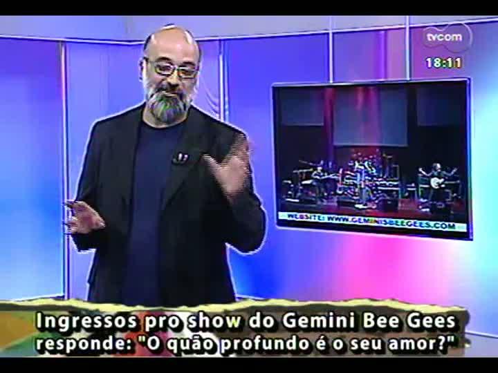 Programa do Roger - Confira a aparesentação dos Gemini Bee Gees - bloco 3 - 18/04/2013
