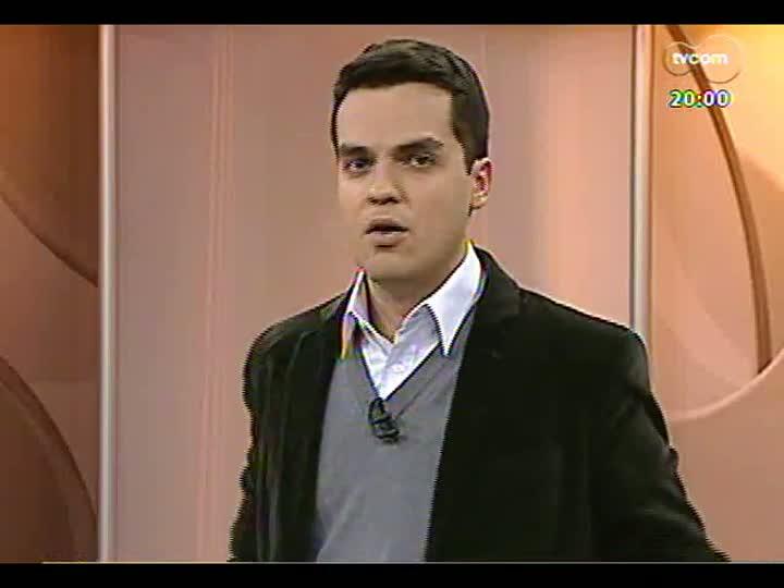 TVCOM 20 Horas - Obras em escolas: Léo Saballa Jr entrevista o secretário da Educação, José Clovis de Azevedo - Bloco 1 - 23/07/2013