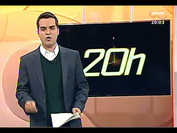 TVCOM 20 Horas - TRE decide cassar mandato de vereador Cassio Trogildo (PTB) - Bloco 1 - 13/08/2013
