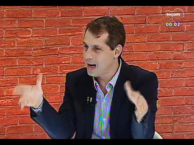 Mãos e Mentes - Promotor de Justiça, responsável pela Operação Leite Compensado, Mauro Rockembach - Bloco 3 - 12/11/2013