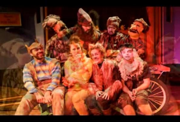 Teatro Novo DC apresenta Os Saltimbancos. 30/01/2014