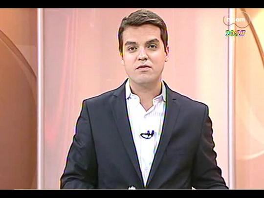 TVCOM 20 Horas - Rodoviários concedem entrevista para anunciar se aceitam reajuste decidido pelo TRT - Bloco 3 - 17/02/2014