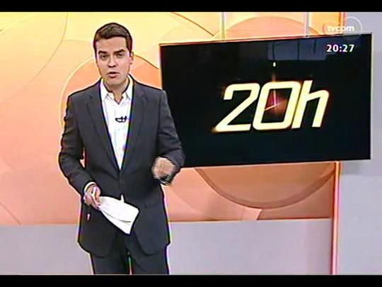 TVCOM 20 Horas - Tribunal de Justiça Desportiva julga racismo contra árbitro Márcio Chagas da silva - Bloco 3 - 13/03/2014