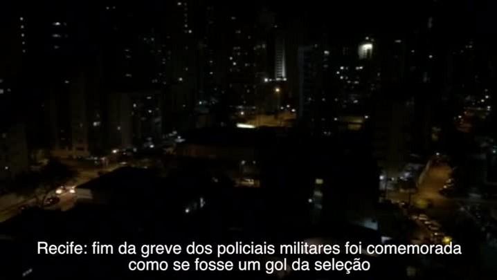 Fim da greve dos PM\'s foi comemorado em Recife